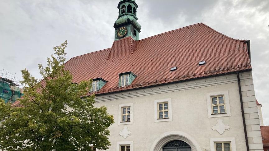 Am 5. Oktober 2021 öffnet die Präsenzstelle Westlausitz   Finsterwalde ab 14:00 Uhr auf dem Finsterwalder Marktplatz für alle interessierten Bürgerinnen und Bürger die Türen. (Bild: Dominique Franke-Sakuth)