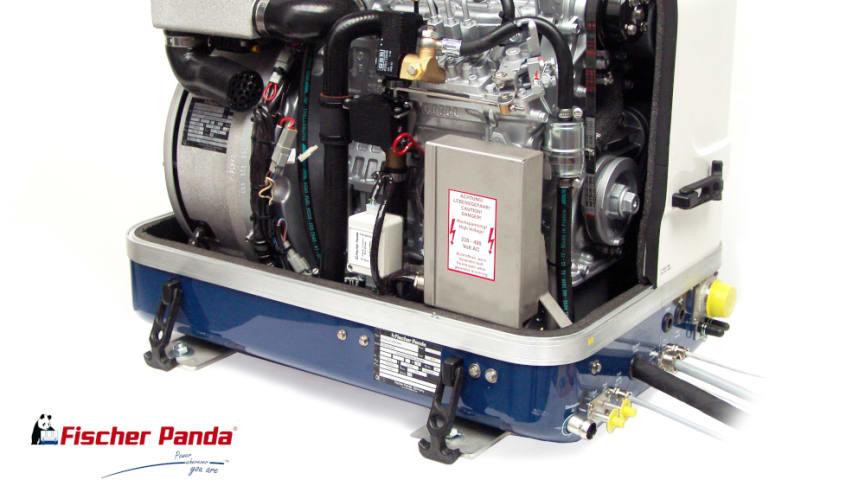Hi-res image -  Fischer Panda UK - Fischer Panda UK variable speed iSeries Panda PMS 10,000i generator