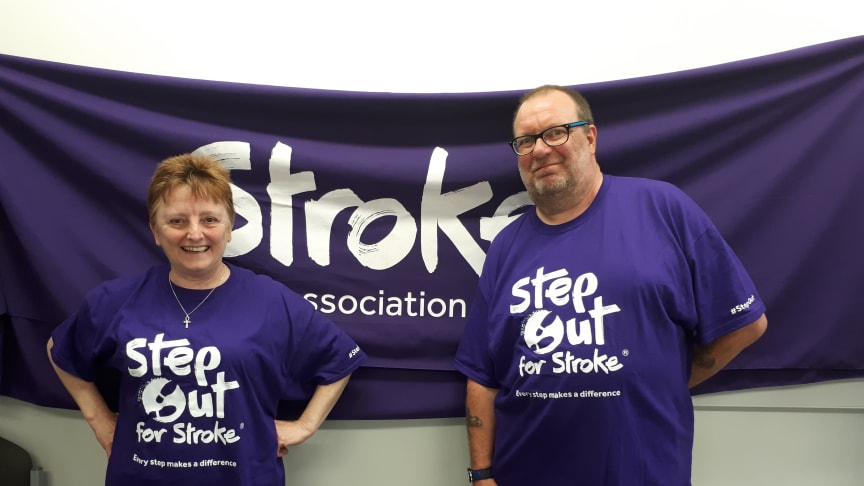 Survivors take a Step Out for Stroke in Scunthorpe