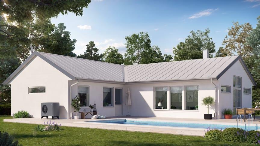 CTC EcoAir Villa med pool