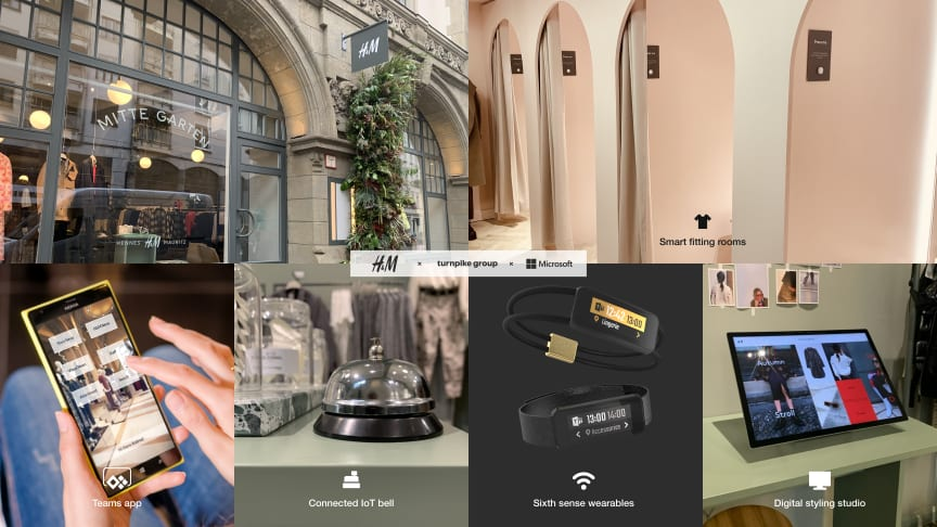 H M Opens A New Miniature Flagship In The Heart Of Berlin Blending Physical And Digital Shopping With A Carefully Curated Tech Led And Customer Centric Shopping Experience Turnpike Group