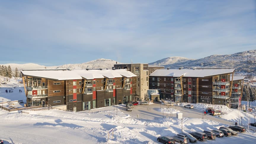 Radisson Blu Resort Trysil ble som et forebyggende smittevernstiltak stengt av kommuneoverlegen i Trysil 5. januar. Foto: Ola Matsson/Skistar
