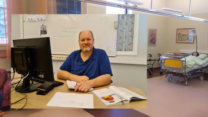 Stefan Sandberg Lauri går direkt ut i jobb efter avslutad utbildning