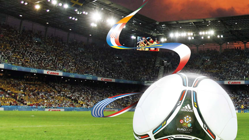 Canon gir fotballfans muligheten til å feire på UEFA EURO 2012 ™