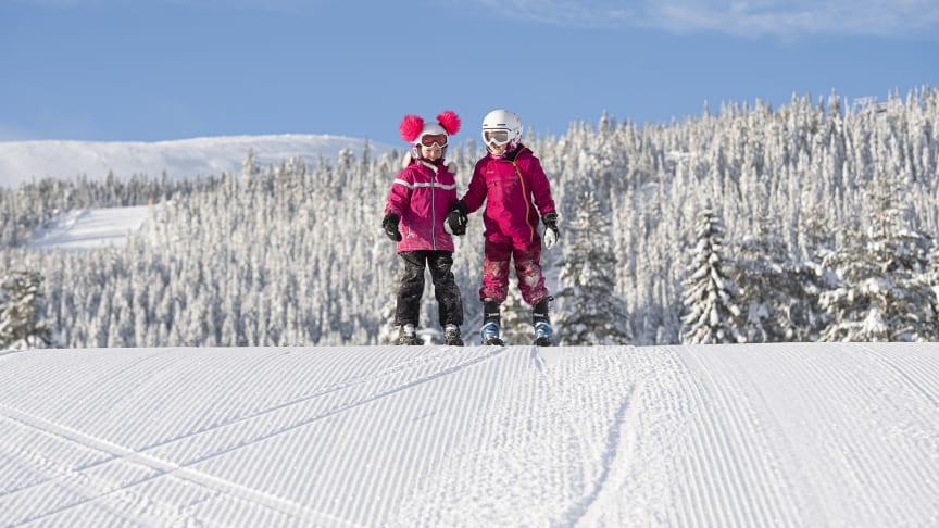 Fantastiske vinterforhold i Trysil. Foto: Ola Matsson