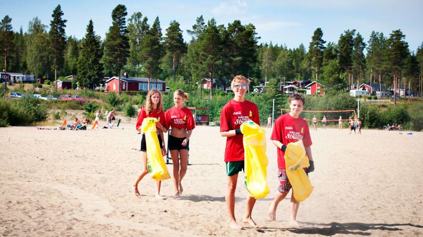 Sabis är huvudsponsor till Städa Sverige och går nu in med en insats för Stockholms alla stränder.