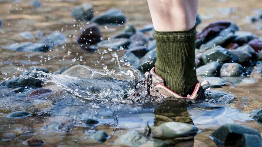 Vedenpitävät StormSock-sukat sopivat kaikkiin ulkoilma-aktiviteetteihin, joissa ollaan tekemisissä nopeasti vaihtuvien olosuhteiden kanssa.