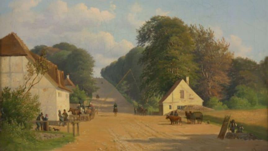 Geels bakke fra sydsiden ca. år 1851
