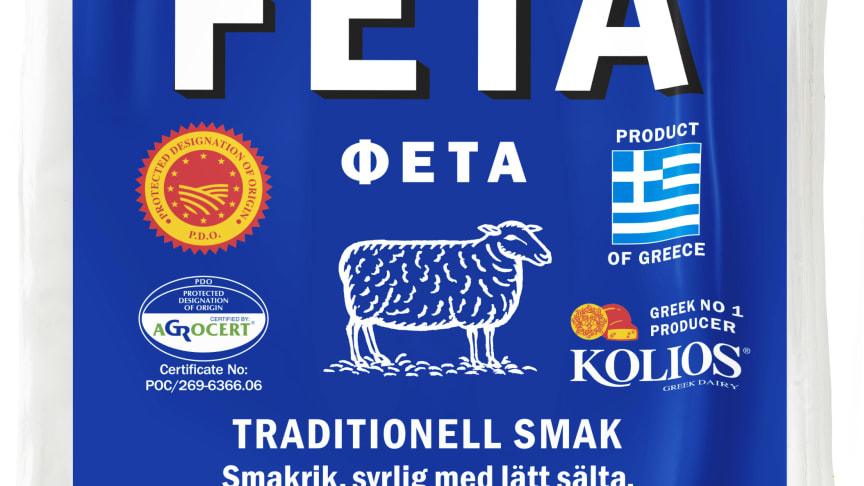 Zeta marknadens mest sålda fetaost