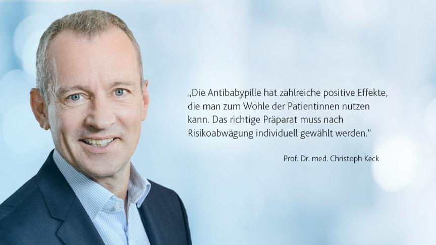 Prof. Christoph Keck im änd-Interview zur Risikobewertung der Antibabypille