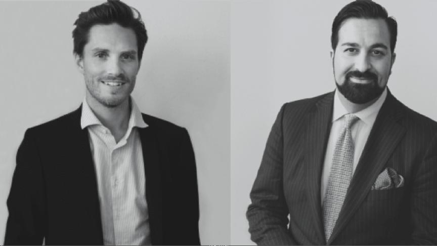 Henrik Anderberg och Gabriel Ghavami