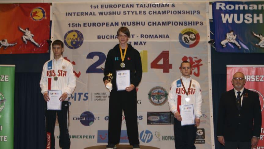 Historisk EM-gull - Norges første EM-gull i Wushu