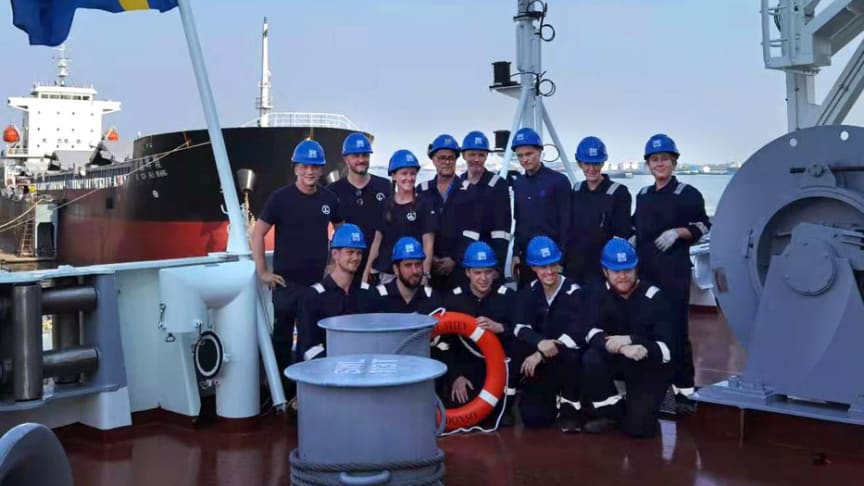 Ship diary: the maiden voyage of Fure Viten