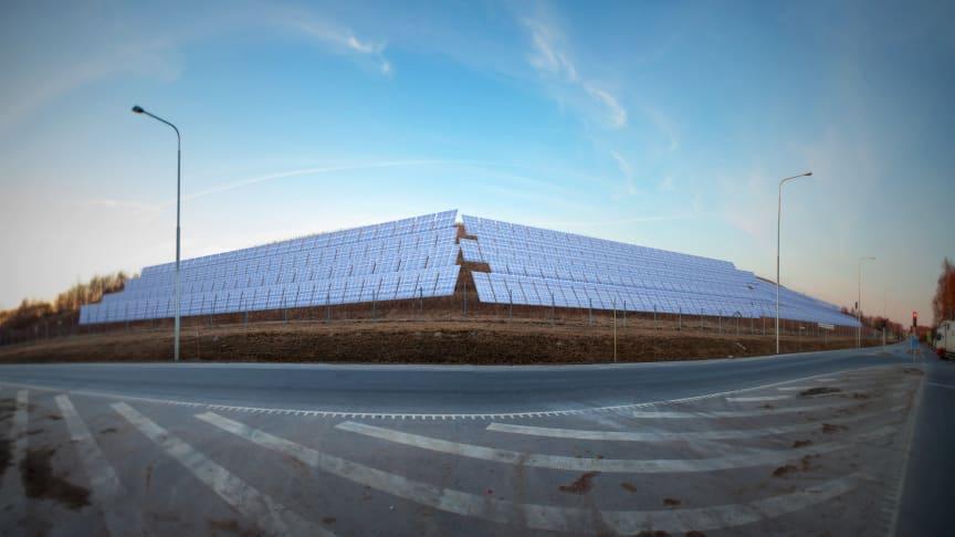 Byggstart för solcellspark i höst