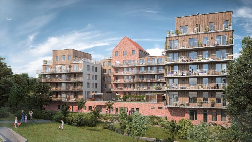 HSB Göteborgs Brf Esplanaden i Nya Hovås slutsålt på rekordtid