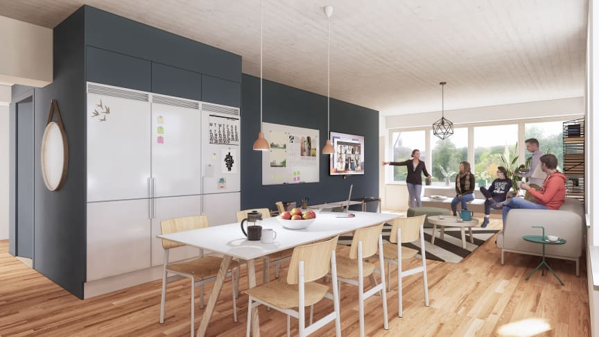Akademiska Hus bygger studentbostäder i Göteborg