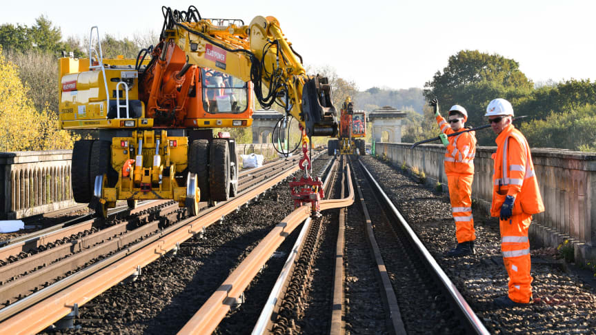 Major engineering work on the Brighton Main Line early next year will include the rebuilding of a junction near Haywards Heath