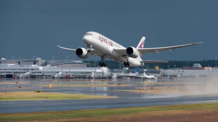 Premiär för Qatar Airways Dreamliner på Arlanda, Airport City Stockholm