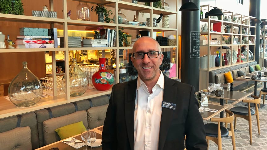 Andreas Ericson, Food & Beverage Manager på Quality Hotel Globe