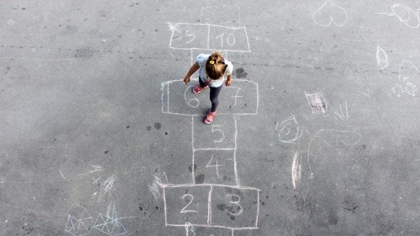 Barnefamilier er en viktig målgruppe for bostøtteordningen. Foto: Husbanken