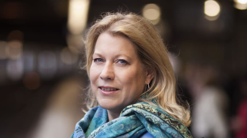 Catharina Elmsäter-Svärd diskuterar Skånska infrastrukturfrågor