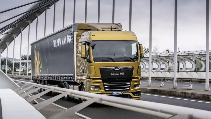 Den nya lastbilsgenerationen från MAN