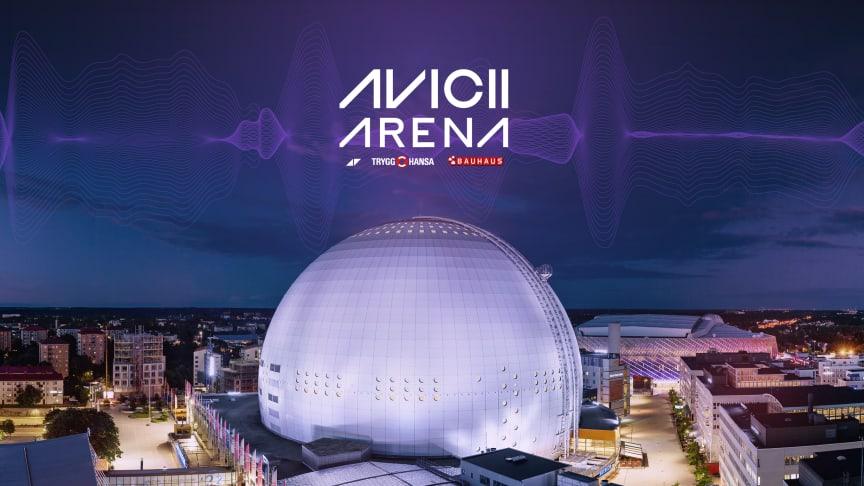 Ericsson Globe byter namn till Avicii Arena