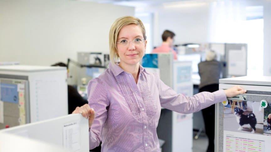 Malin Karlsson Kundservicechef på Umeå Energi