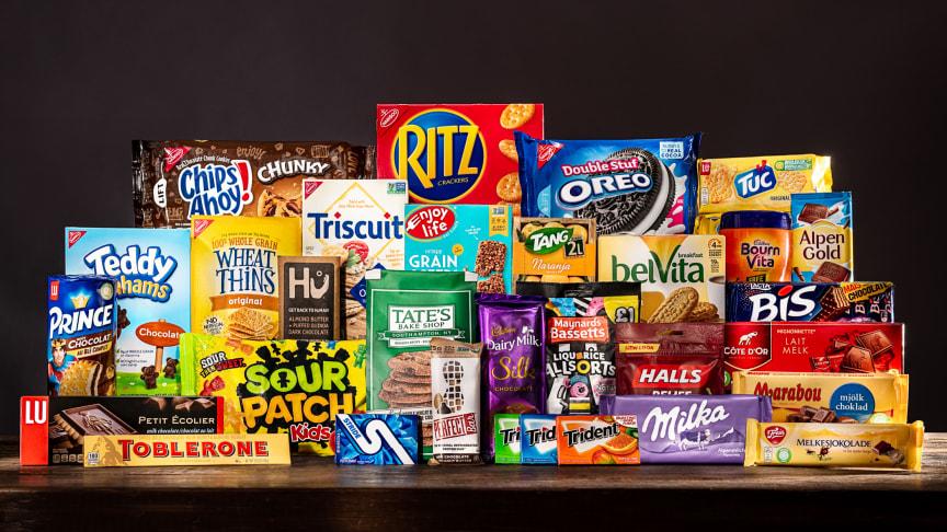 Mondelēz International presenterer sin bærekraftsrapport «Snacking Made Right»