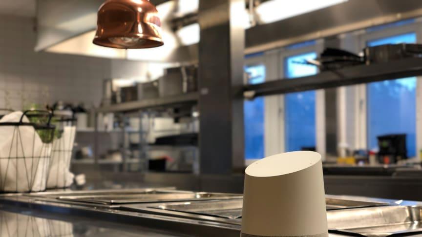 Google Assistent - användbar i restaurangköket