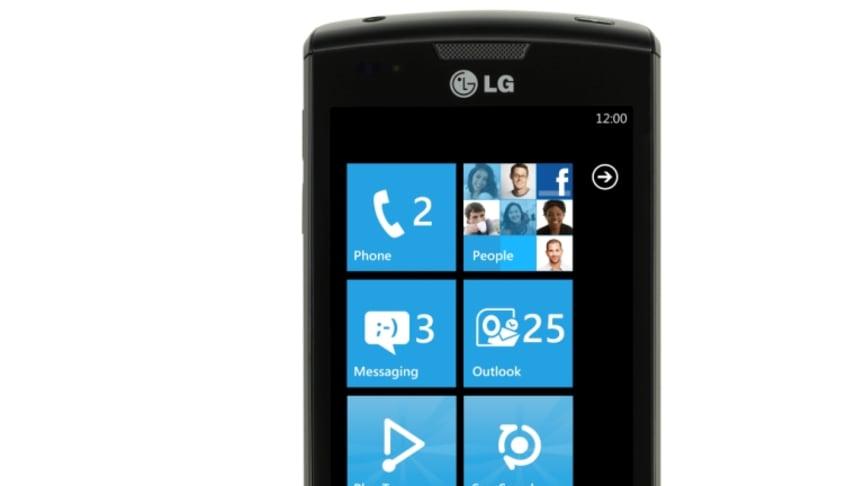 Upplev det bästa av Windows Phone 7 med nya LG Optimus 7