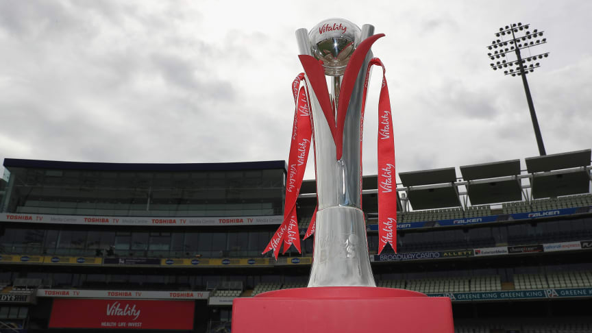 Vitality Blast Finals Day to conclude domestic season
