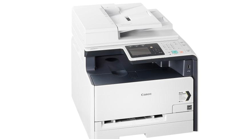 Canons nya laserskrivare höjer prestandan och erbjuder flera anslutningsmöjligheter