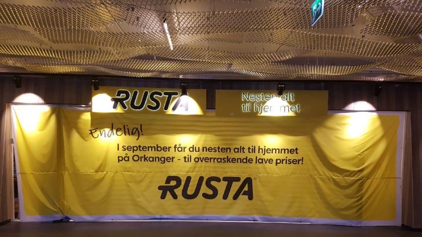Rusta entré, Orkanger