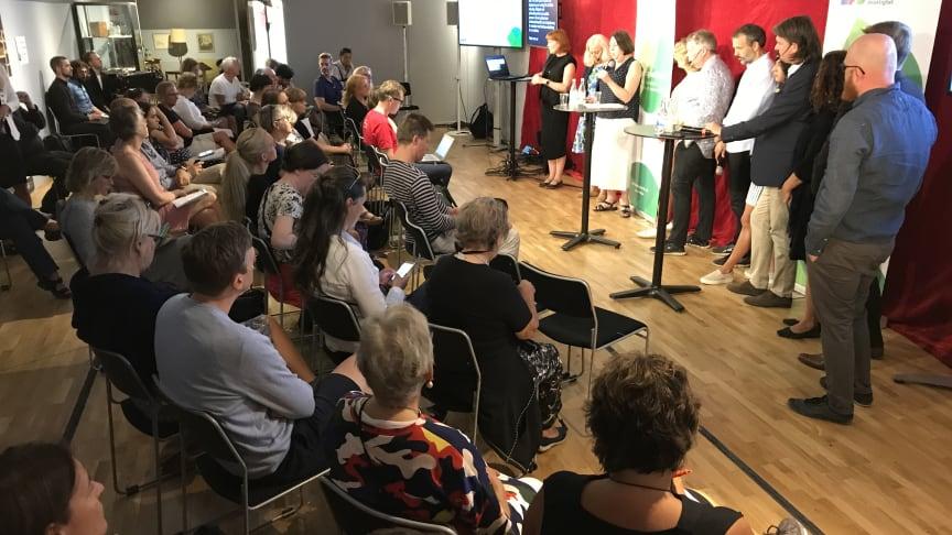 Bild från ett av MFD:s seminarier på Delaktighetsforum i Almedalen 2018.
