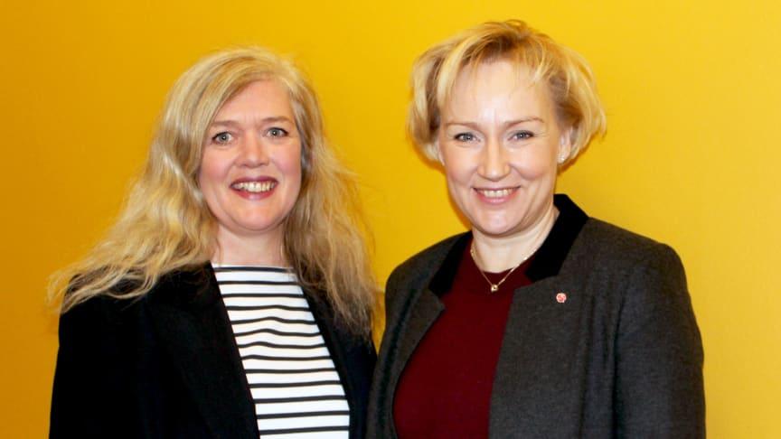 Ministerbesök på Stockholms konstnärliga högskola