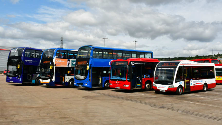 Bus use in the North East grows for the first time in a decade as national statistics show services are now some of the best in the UK