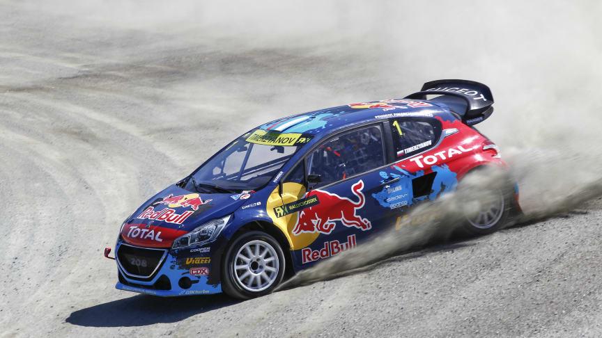 Team Peugeot-Hansen glänste i Hell