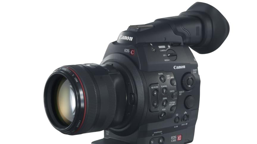 Canon EOS C300 får eftertraktat godkännande av BBC.
