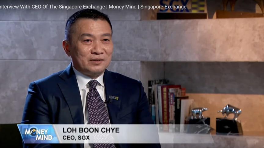 Screenshot from CNA interview