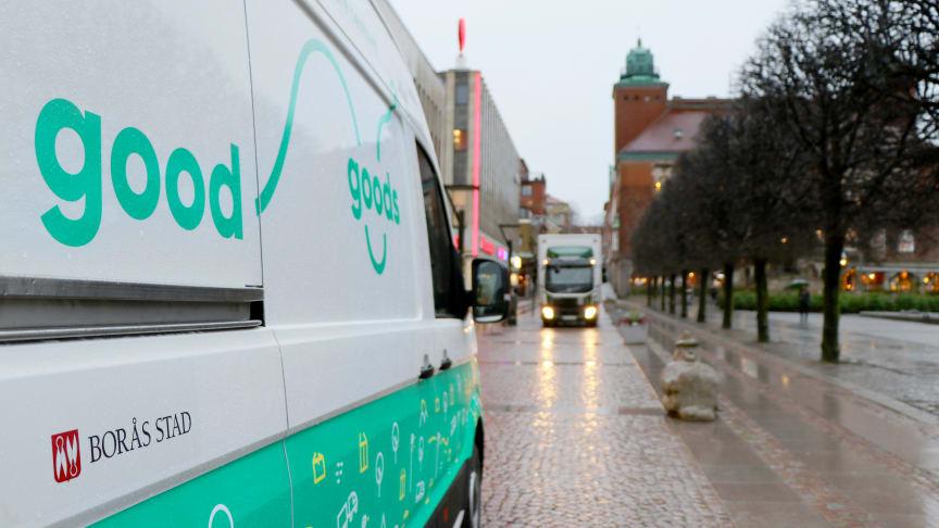 Nu blir Borås centrum tystare, renare och säkrare