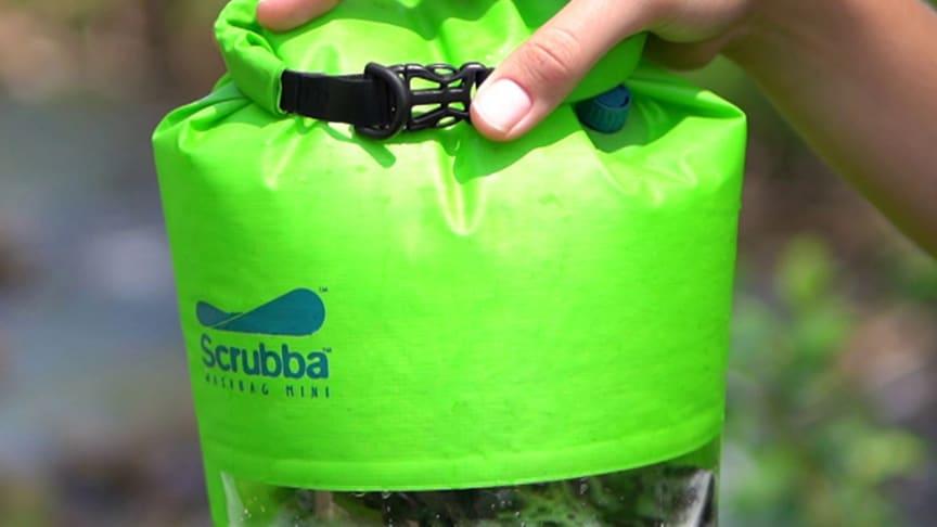 Scrubba – den portable vaskemaskinen!