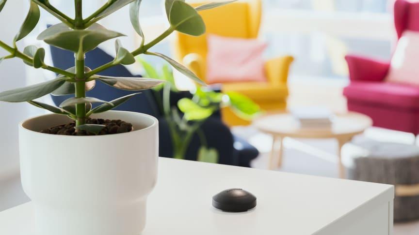 Fire trinn for å sikre lavt radonnivå i hjemmet