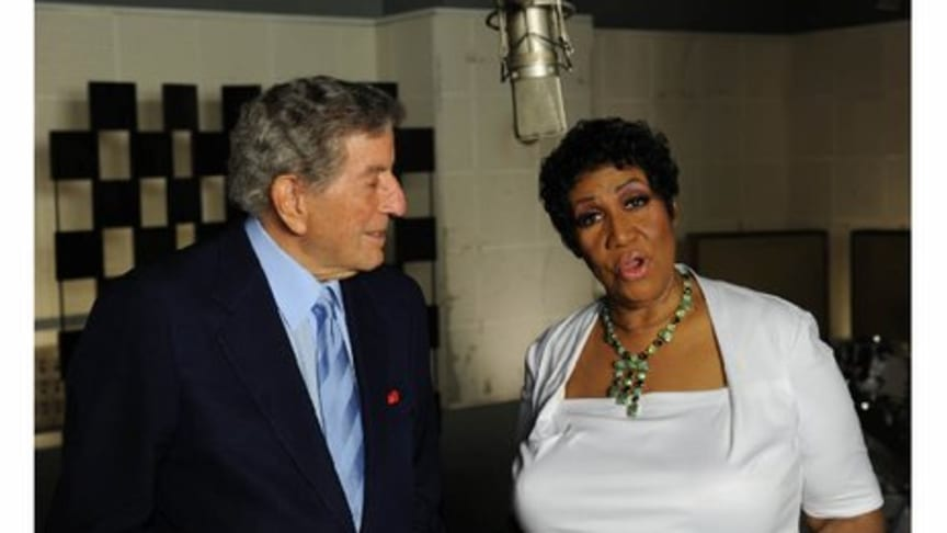 """Videopremiär för """"How Do You Keep The Music Playing"""" med Tony Bennett och Aretha Franklin"""