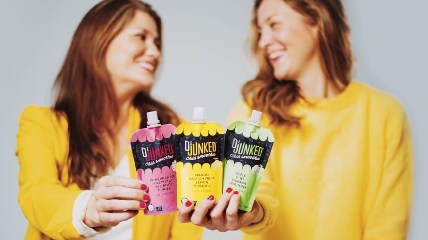 """Dejunked beskriver sitt utbud som """"lite roligare än en banan och betydligt nyttigare än en varmkorv""""."""