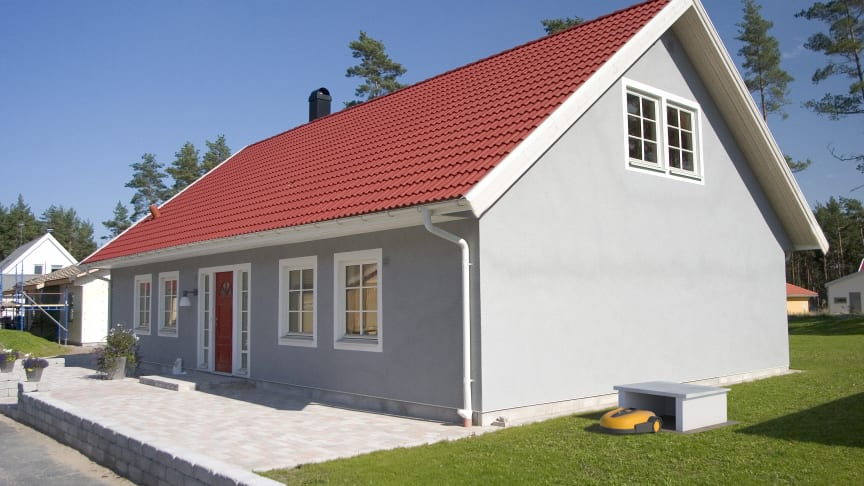 DIY - Mur en garasje til robotgressklipperen 2