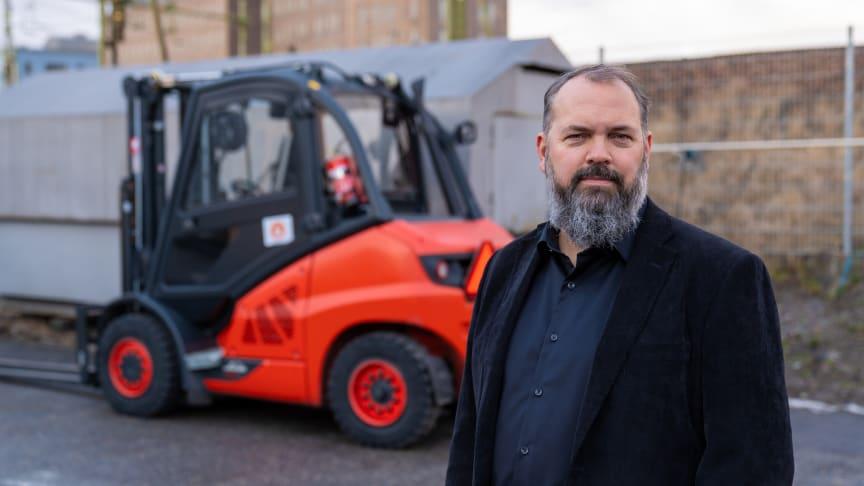 Rikard Skärebo, Production Manager at Stockholmsmässan.