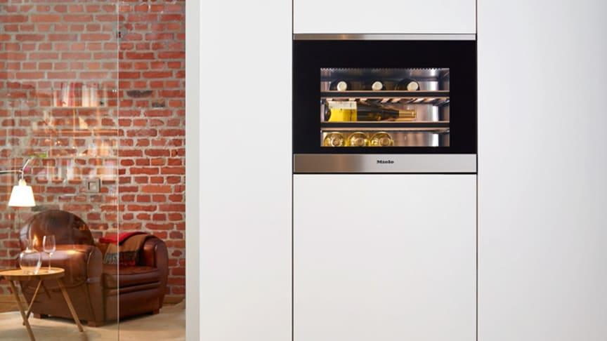 Ny kompakt vinkyl från Miele
