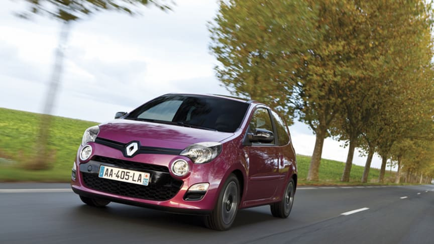 Renault Twingo - nu med superøkonomisk dieselmotor