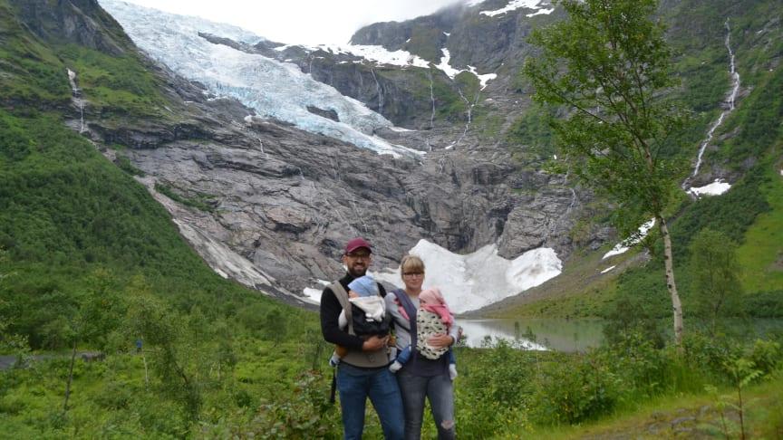 Wanderung mit Zwillingen